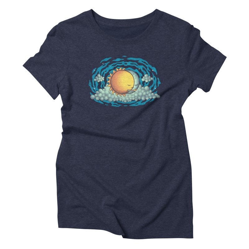 Because the Night Women's Triblend T-Shirt by spookylili