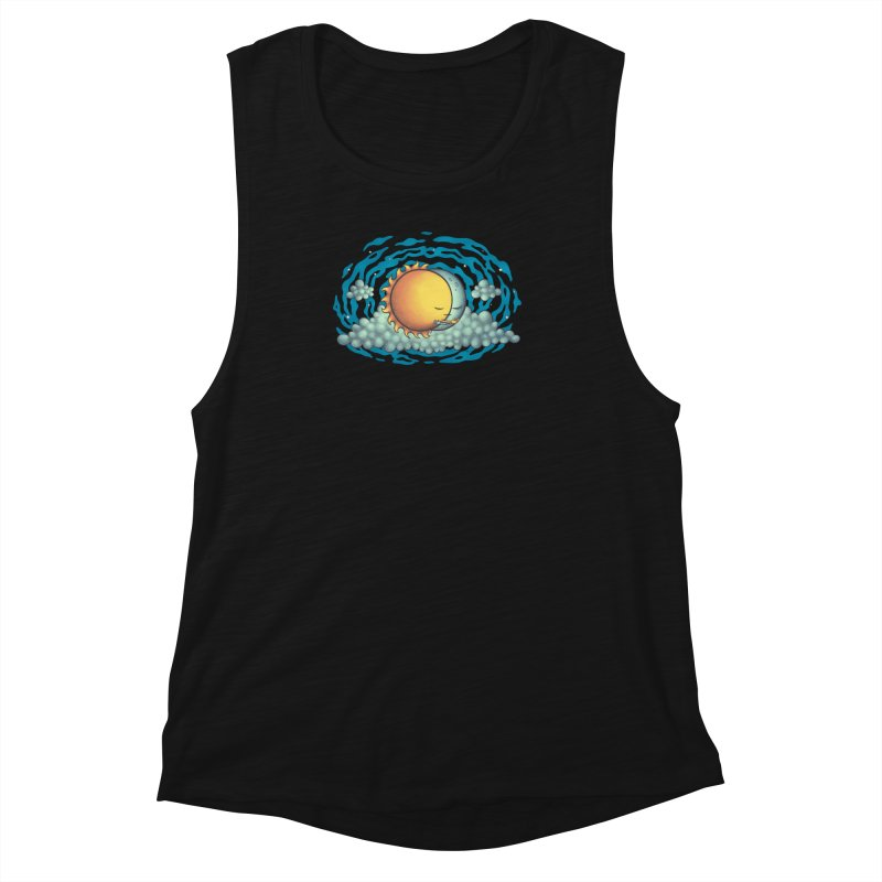 Because the Night Women's Tank by spookylili