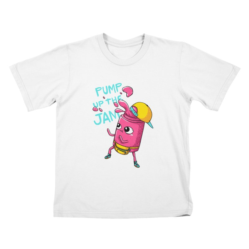Pump the Jam Kids T-Shirt by spookylili