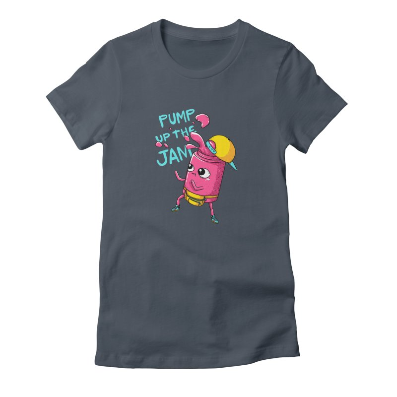 Pump the Jam Women's T-Shirt by spookylili