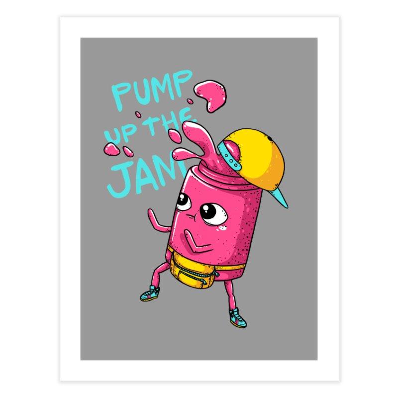 Pump the Jam Home Fine Art Print by spookylili