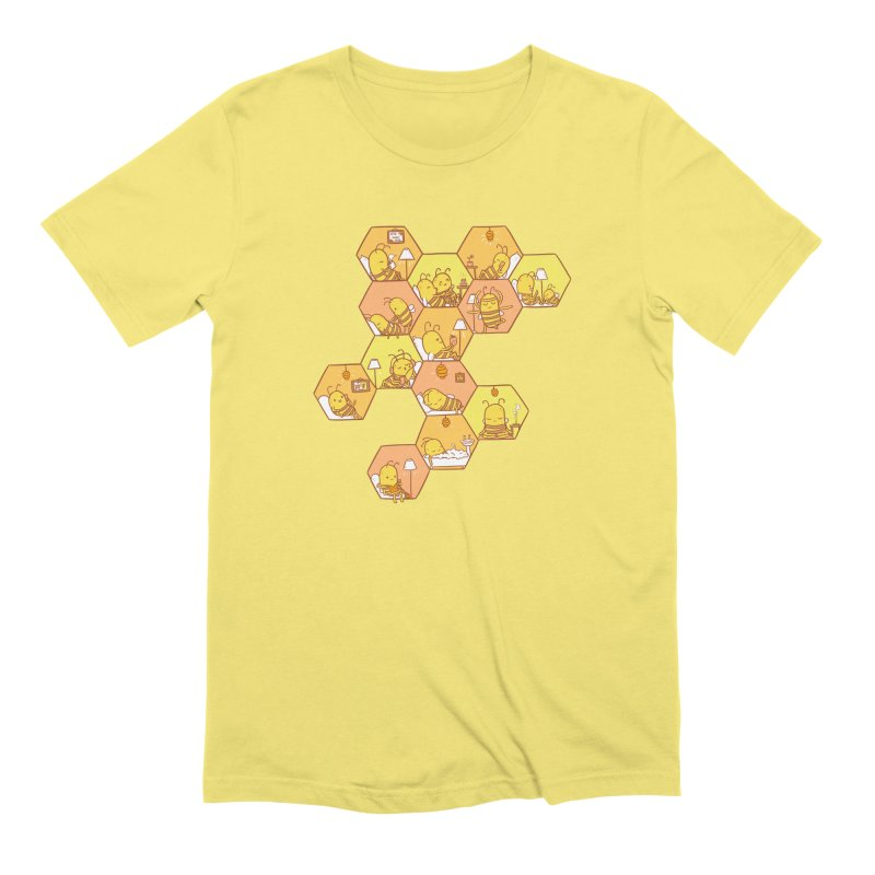 Just Bee Men's T-Shirt by spookylili