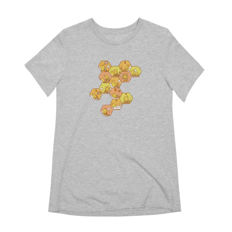 Just Bee Women's Extra Soft T-Shirt by spookylili