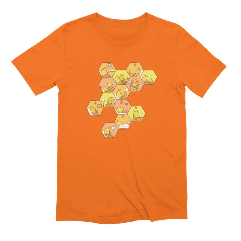 Just Bee Men's Extra Soft T-Shirt by spookylili