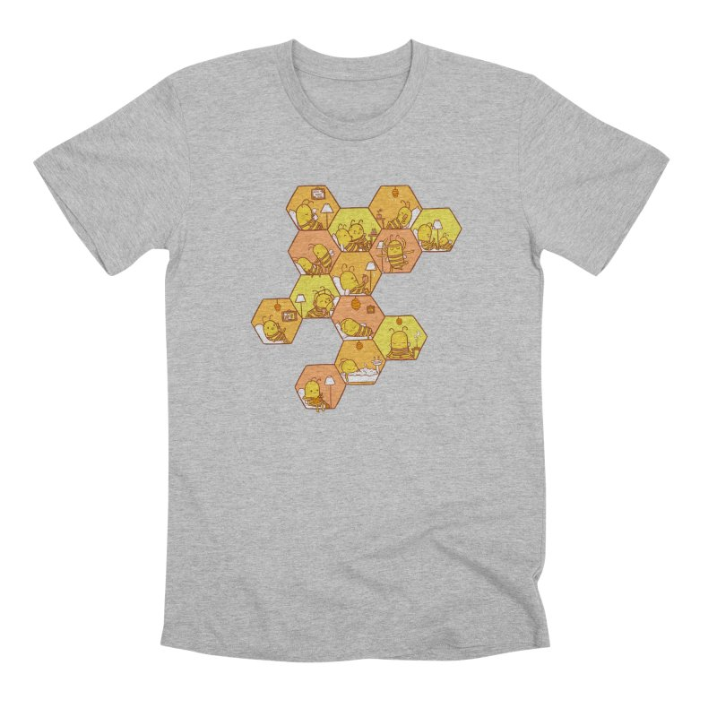 Just Bee Men's Premium T-Shirt by spookylili