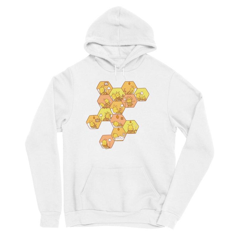 Just Bee Men's Sponge Fleece Pullover Hoody by spookylili