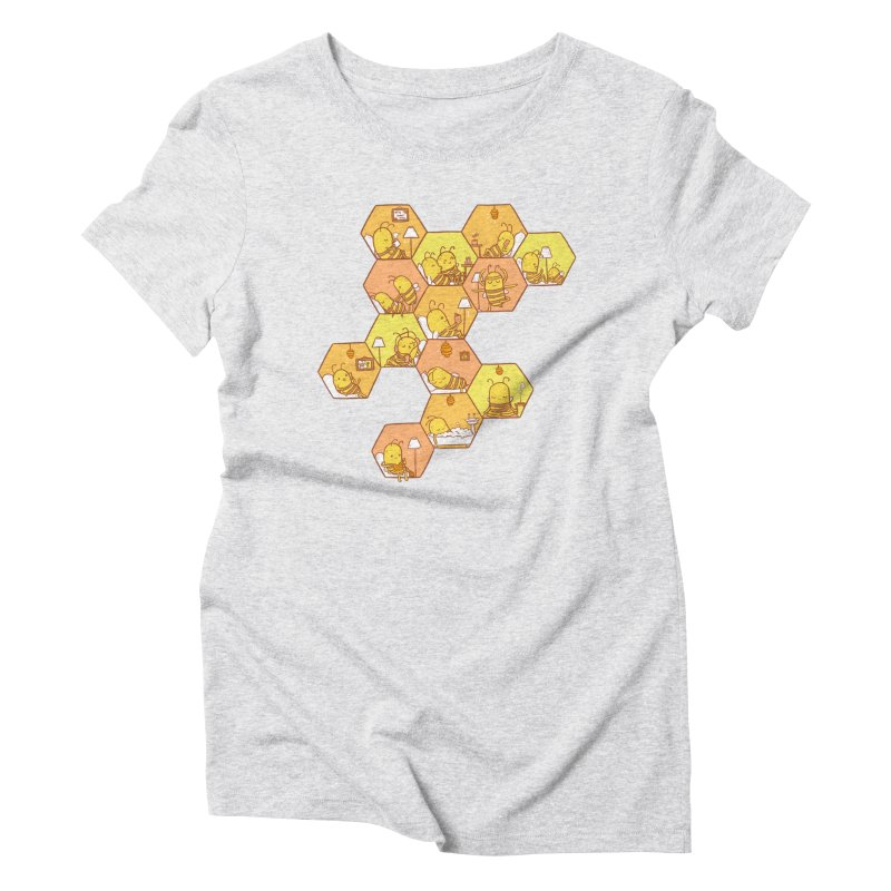 Just Bee Women's T-Shirt by spookylili