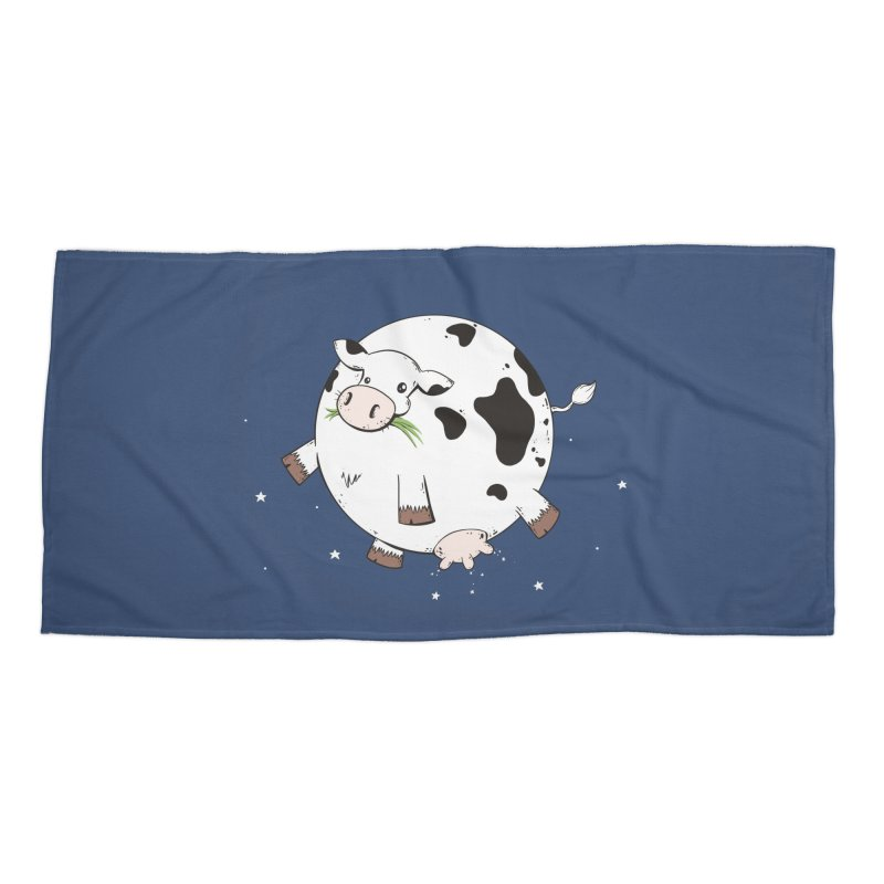 Full Moo Accessories Beach Towel by spookylili