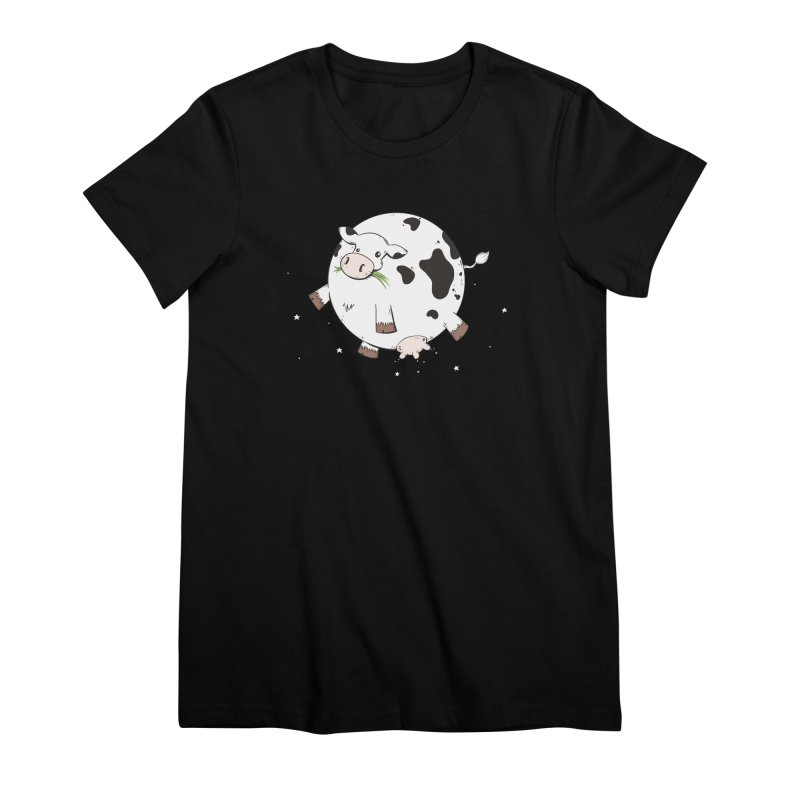 Full Moo Women's Premium T-Shirt by spookylili