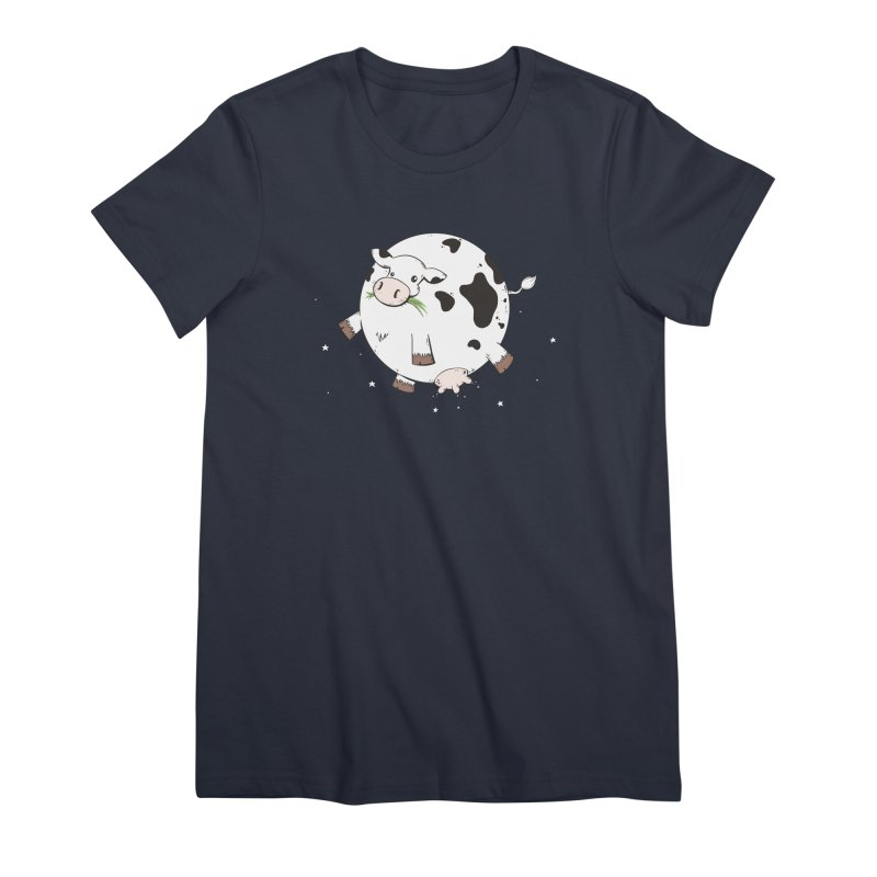 Full Moo Women's Premium T-Shirt by spookylili