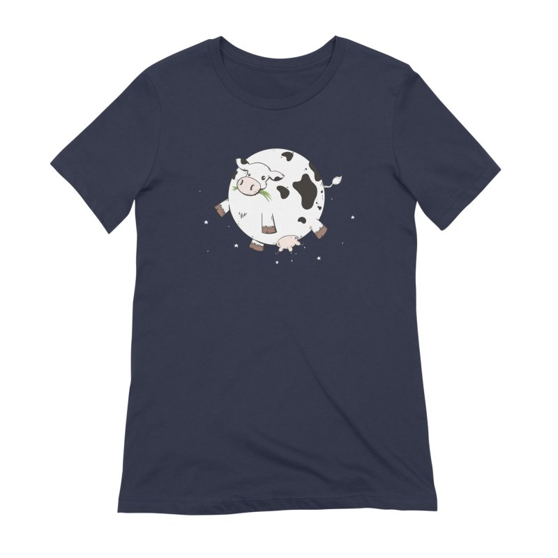 Full Moo Women's Extra Soft T-Shirt by spookylili