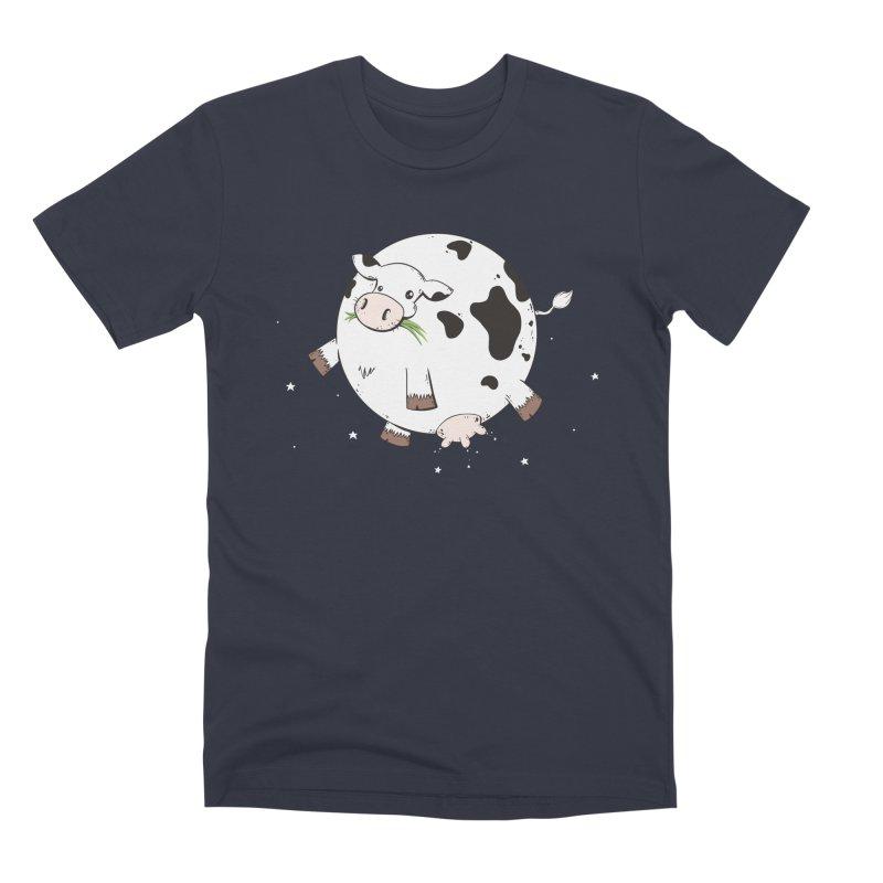 Full Moo Men's Premium T-Shirt by spookylili