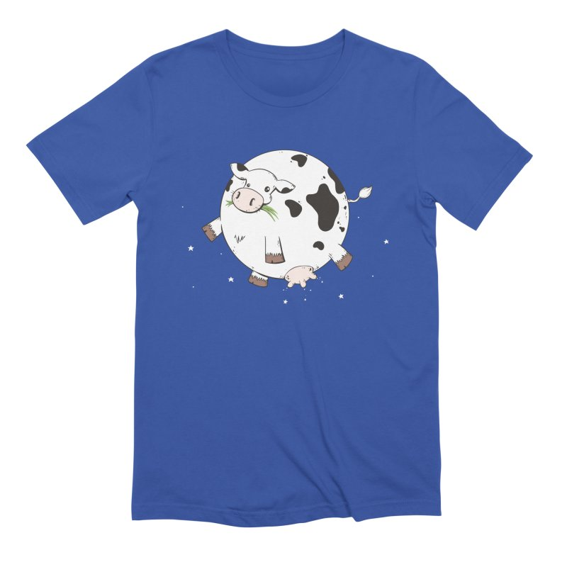 Full Moo Men's T-Shirt by spookylili