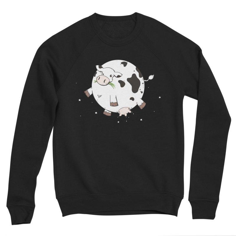 Full Moo Women's Sponge Fleece Sweatshirt by spookylili