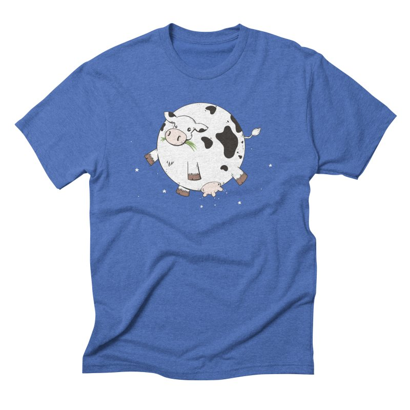 Full Moo Men's T-Shirt by spookylili