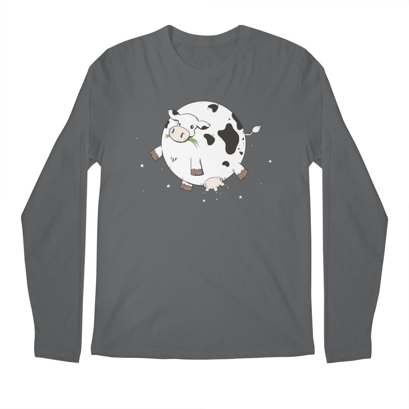 Full Moo Men's Longsleeve T-Shirt by spookylili