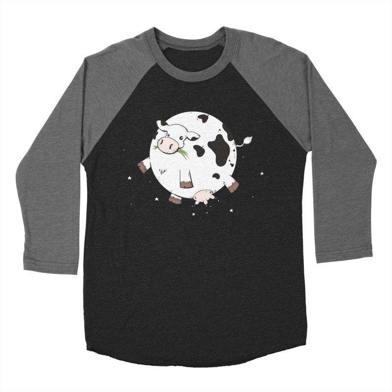 Full Moo Women's Baseball Triblend Longsleeve T-Shirt by spookylili