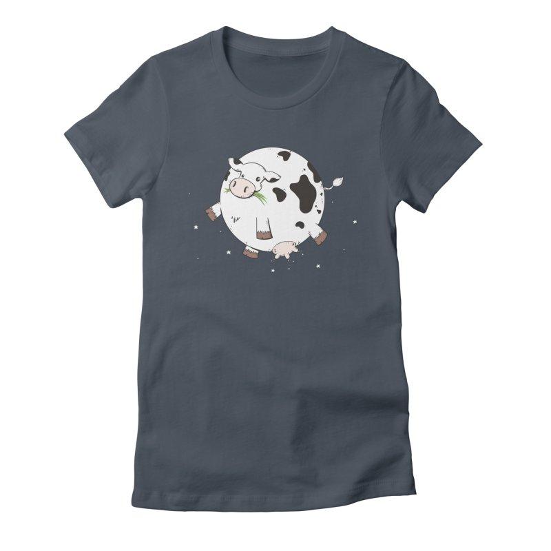 Full Moo Women's T-Shirt by spookylili