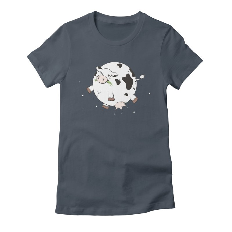 Full Moo Women's T-Shirt by spookylili