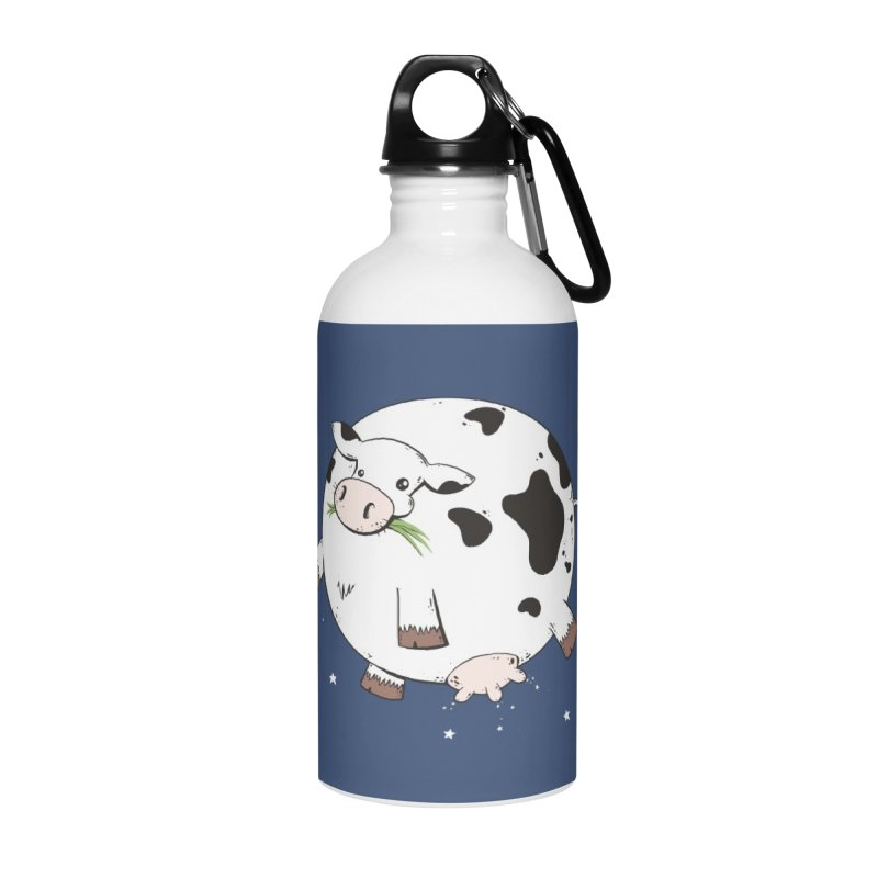 Full Moo Accessories Water Bottle by spookylili