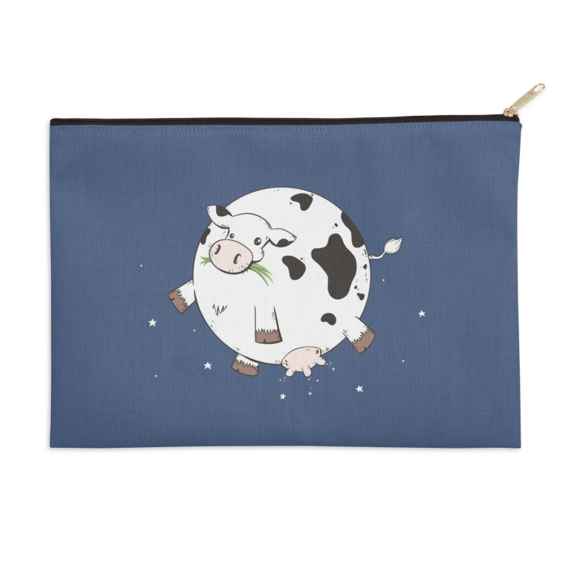 Full Moo Accessories Zip Pouch by spookylili