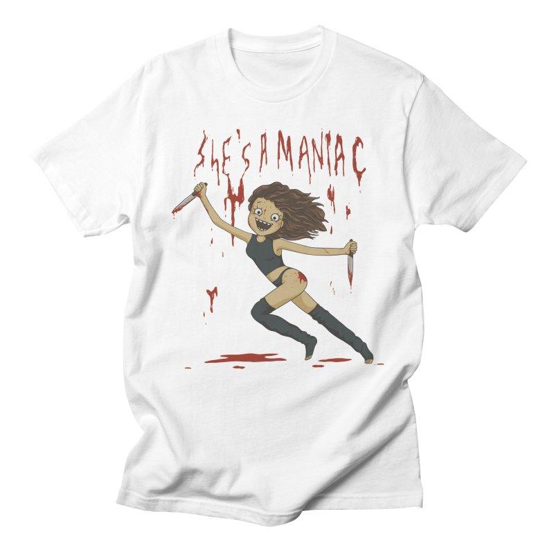 Maniac Men's T-Shirt by spookylili