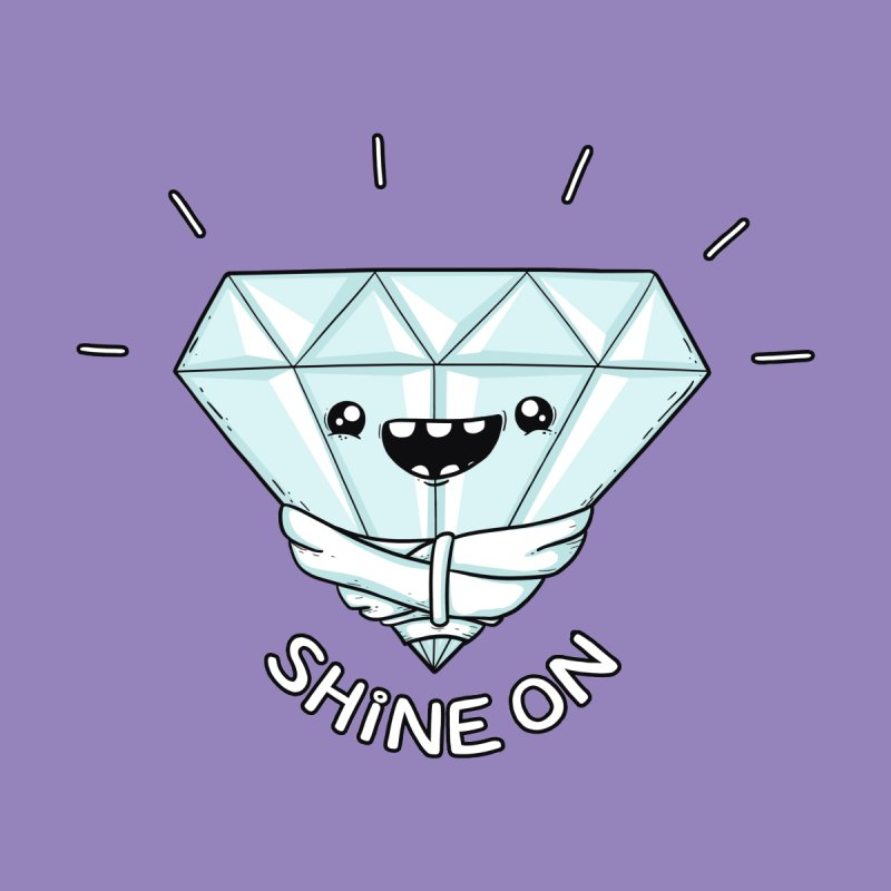 Shine On Men's T-Shirt by spookylili