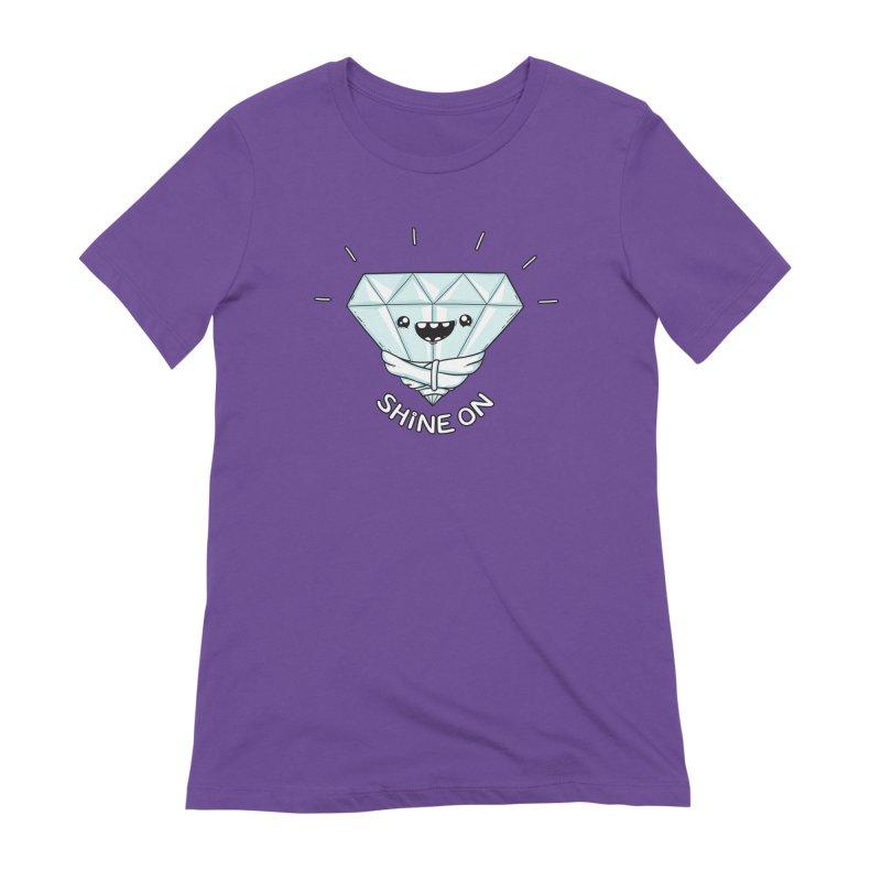 Shine On Women's Extra Soft T-Shirt by spookylili