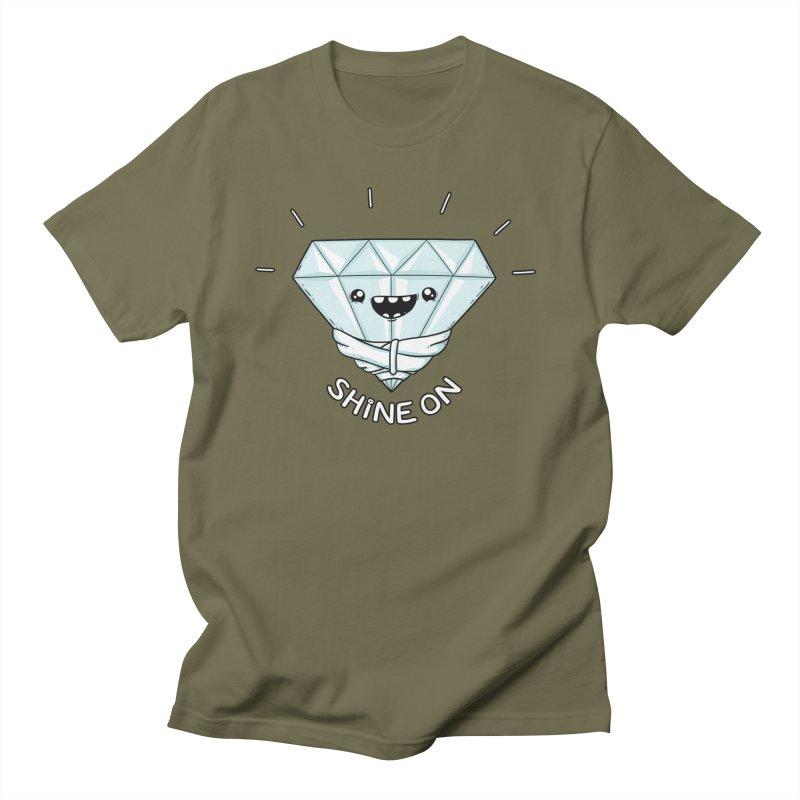 Shine On Men's T-Shirt by spookylili