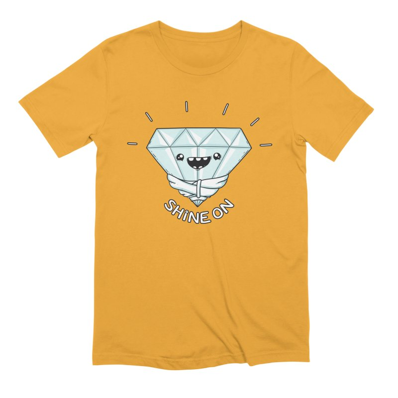 Shine On Men's Extra Soft T-Shirt by spookylili
