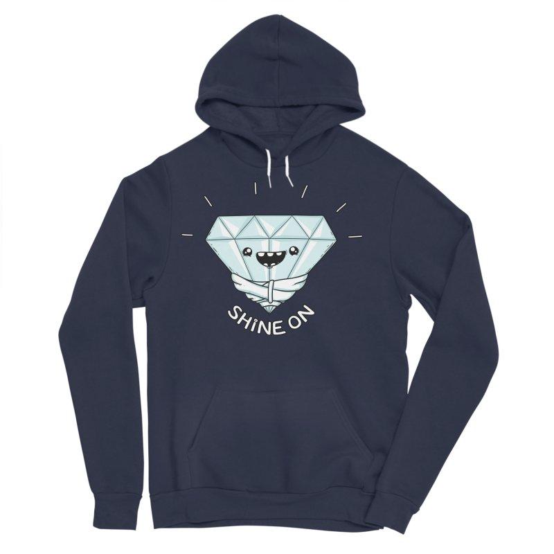 Shine On Men's Sponge Fleece Pullover Hoody by spookylili