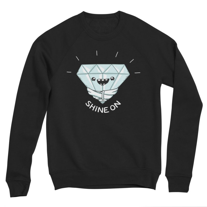 Shine On Men's Sponge Fleece Sweatshirt by spookylili