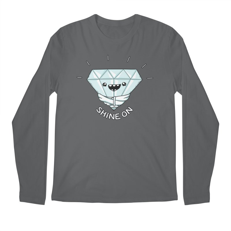 Shine On Men's Longsleeve T-Shirt by spookylili