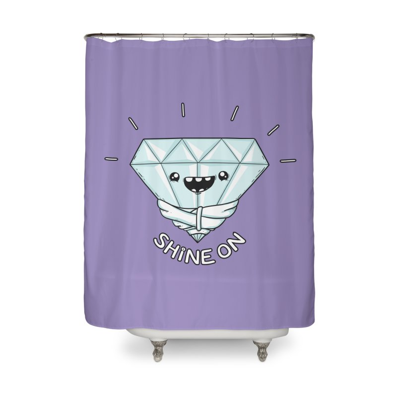 Shine On Home Shower Curtain by spookylili