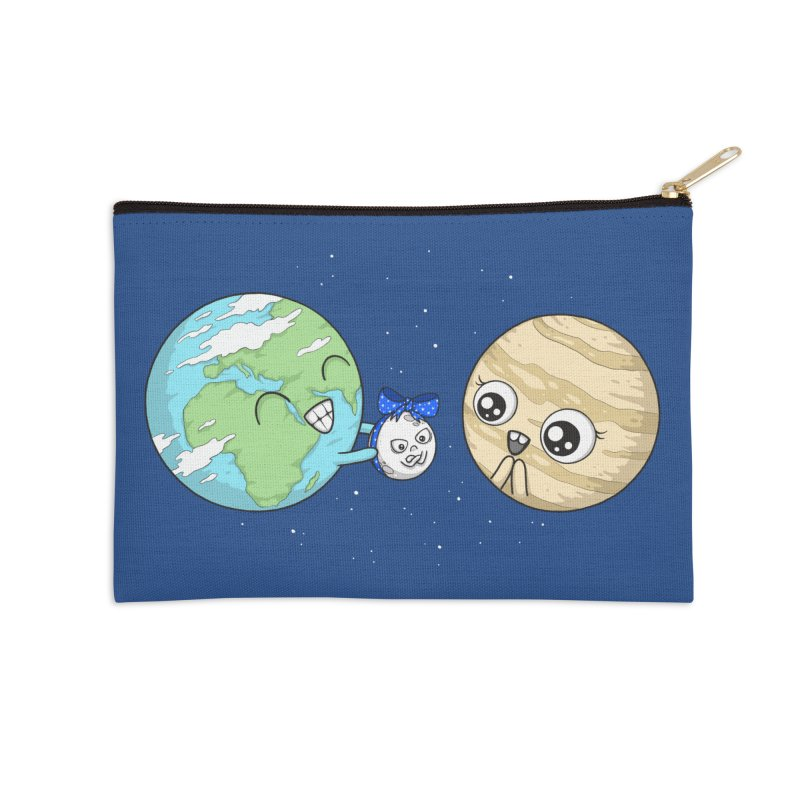 I'd Give You The Moon Accessories Zip Pouch by spookylili