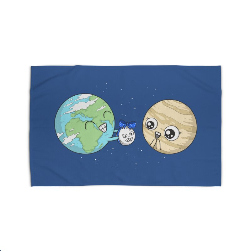 I'd Give You The Moon Home Rug by spookylili