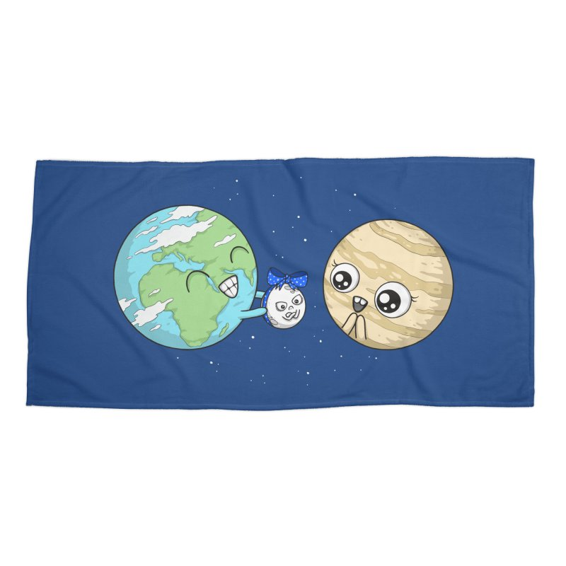 I'd Give You The Moon Accessories Beach Towel by spookylili