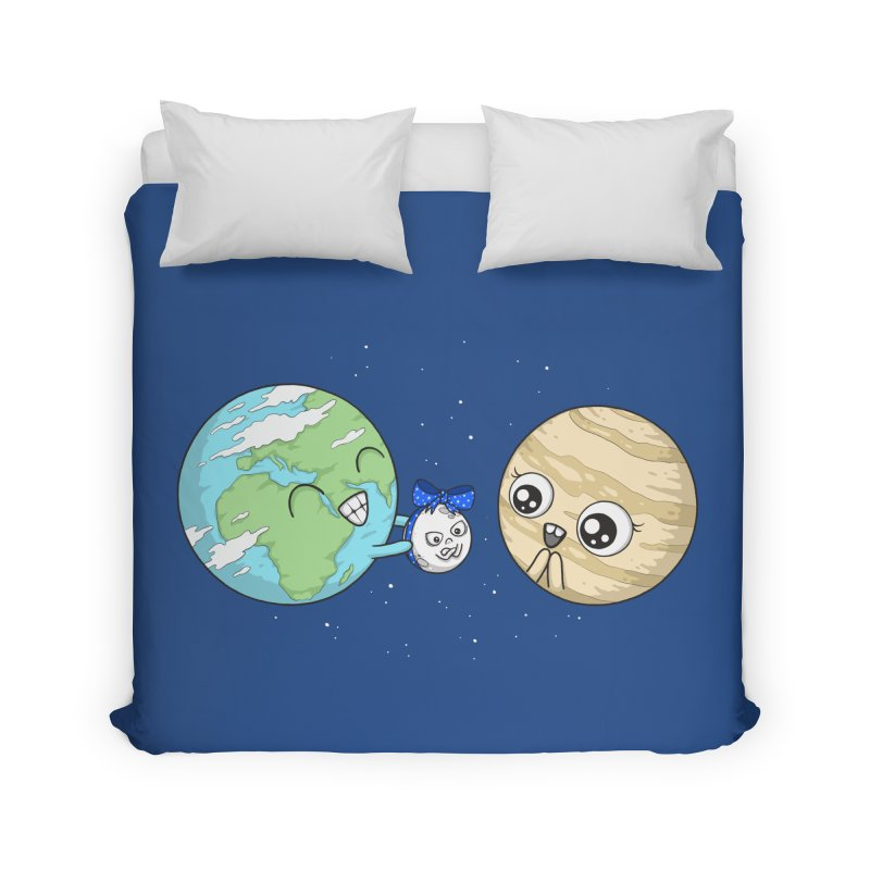 I'd Give You The Moon Home Duvet by spookylili