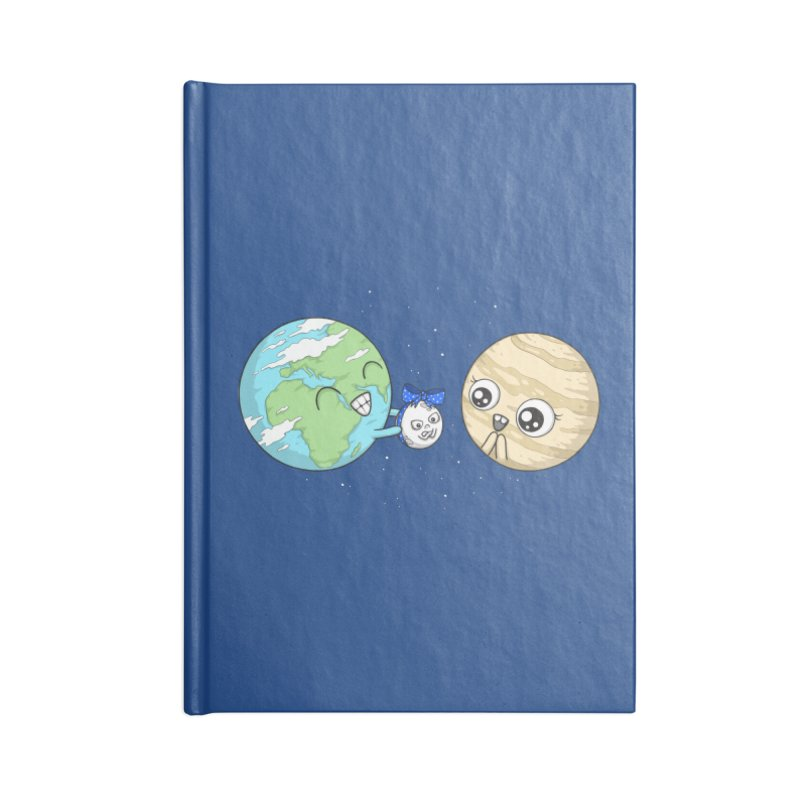 I'd Give You The Moon Accessories Lined Journal Notebook by spookylili