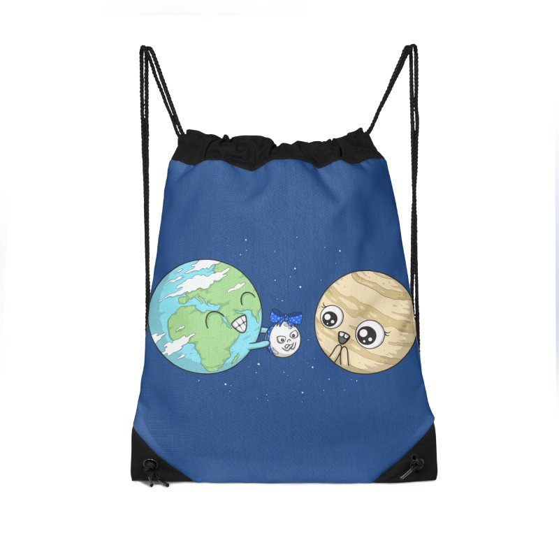 I'd Give You The Moon Accessories Drawstring Bag Bag by spookylili