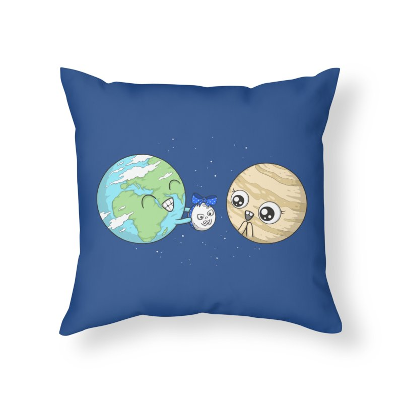 I'd Give You The Moon Home Throw Pillow by spookylili