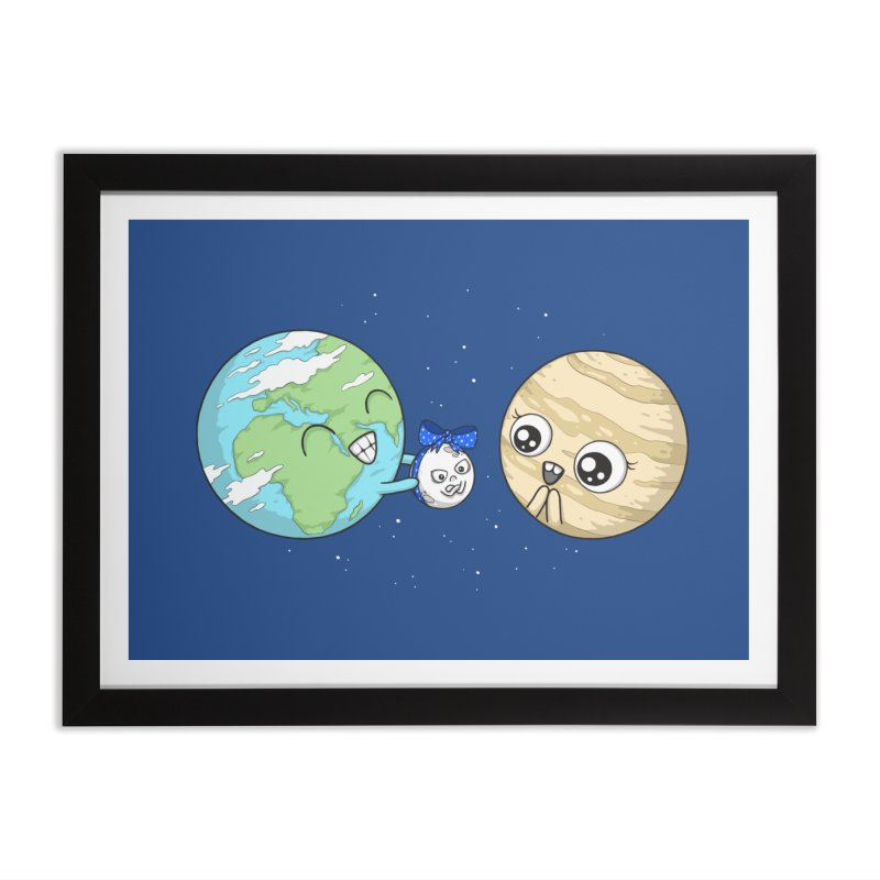 I'd Give You The Moon Home Framed Fine Art Print by spookylili