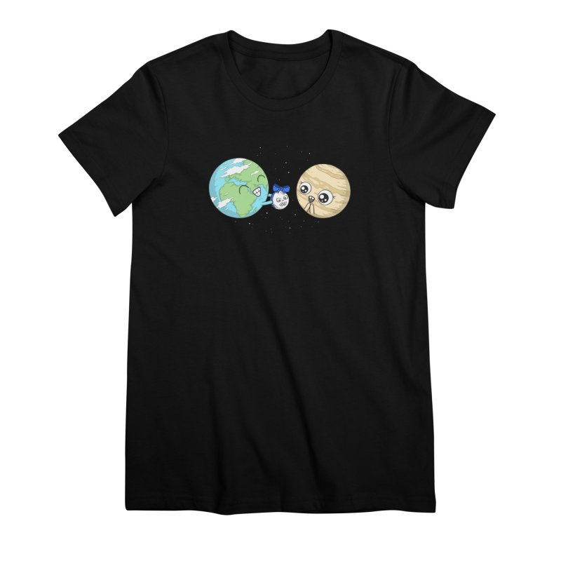 I'd Give You The Moon Women's Premium T-Shirt by spookylili