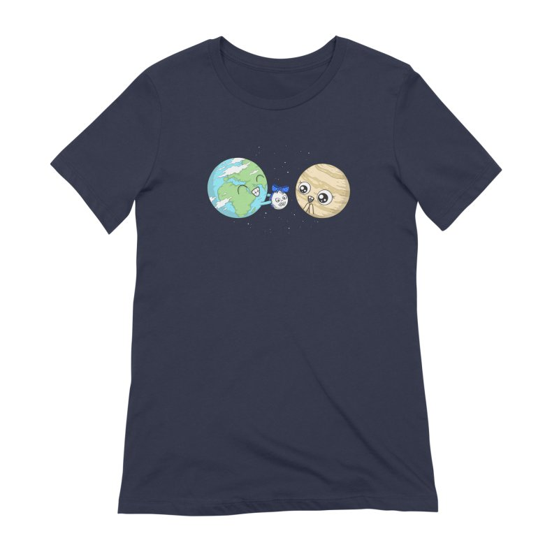 I'd Give You The Moon Women's Extra Soft T-Shirt by spookylili