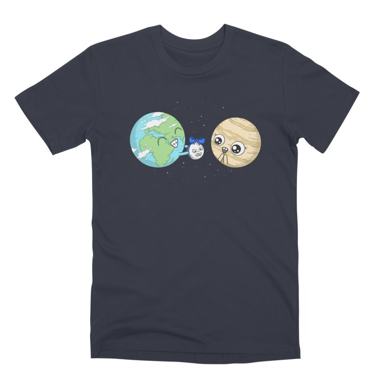 I'd Give You The Moon Men's Premium T-Shirt by spookylili