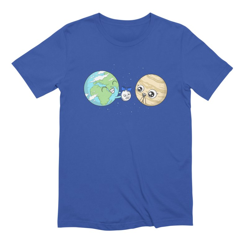 I'd Give You The Moon Men's Extra Soft T-Shirt by spookylili