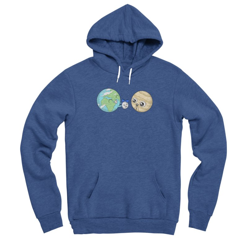 I'd Give You The Moon Men's Sponge Fleece Pullover Hoody by spookylili