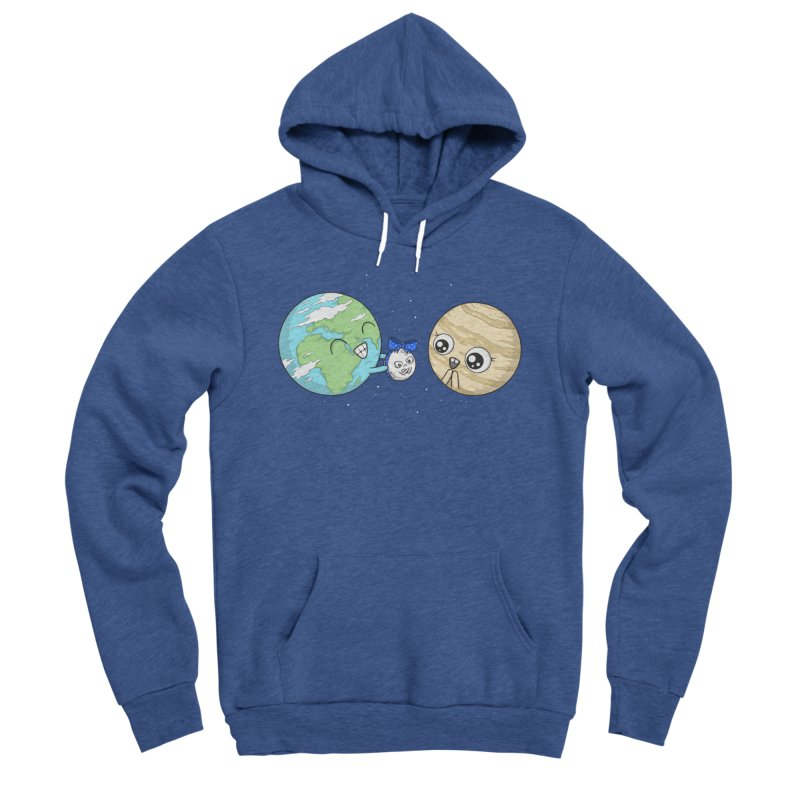 I'd Give You The Moon Women's Sponge Fleece Pullover Hoody by spookylili