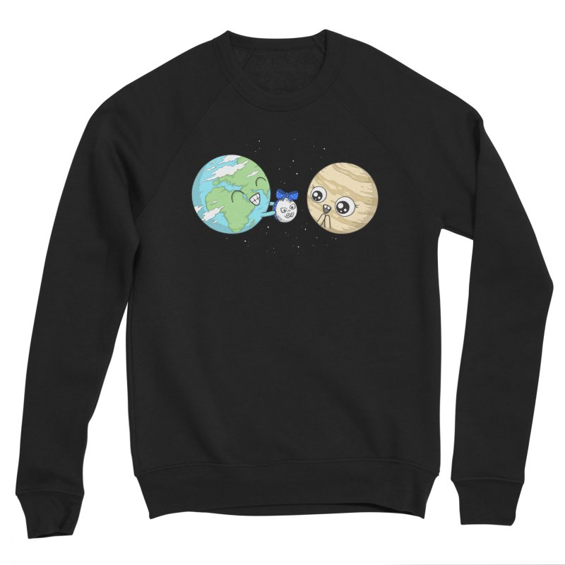 I'd Give You The Moon Men's Sponge Fleece Sweatshirt by spookylili