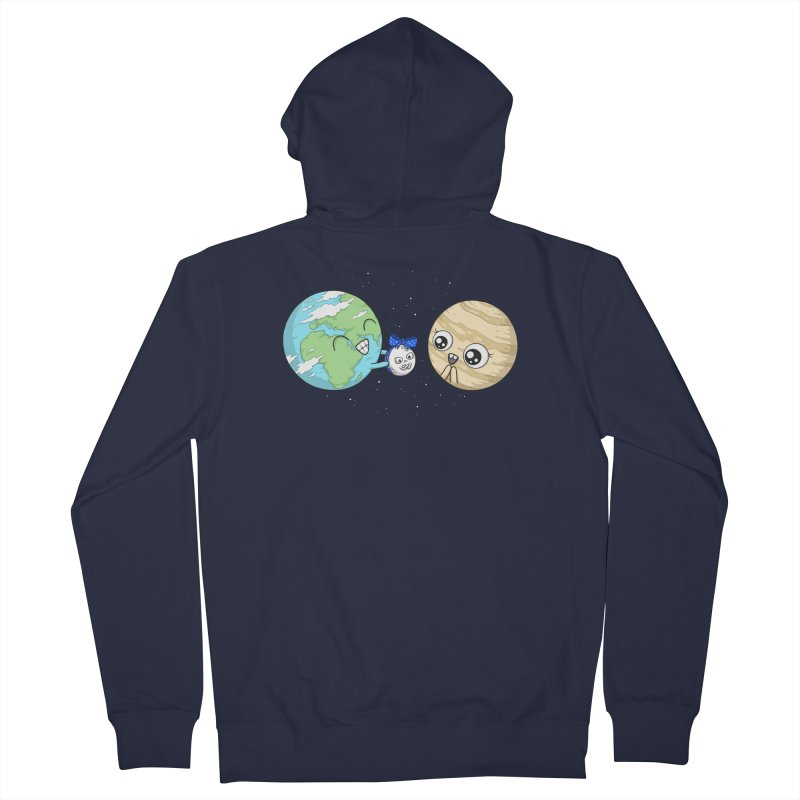 I'd Give You The Moon Men's Zip-Up Hoody by spookylili